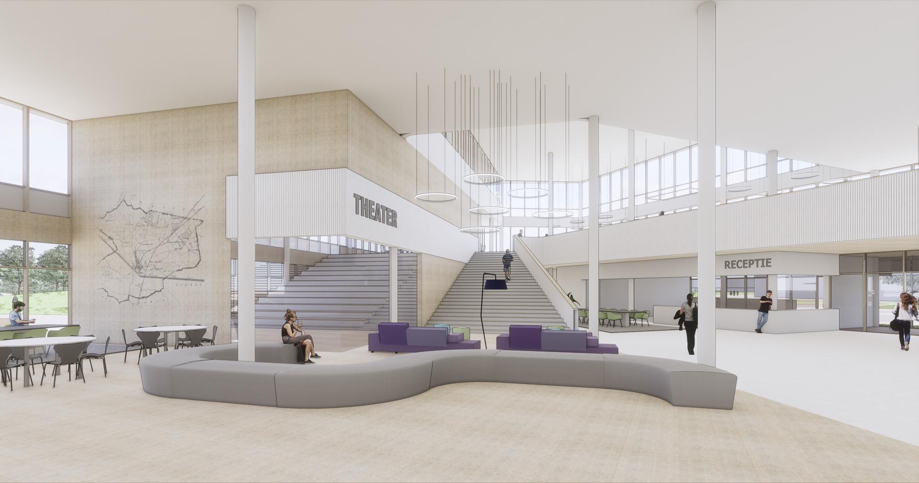 RoosRos architecten Dr-Knippenbergcollege