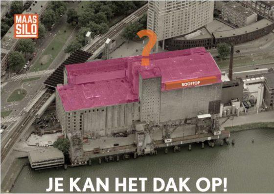 Je kan het dak op! – Ideeëncompetitie Maassilo Rotterdam