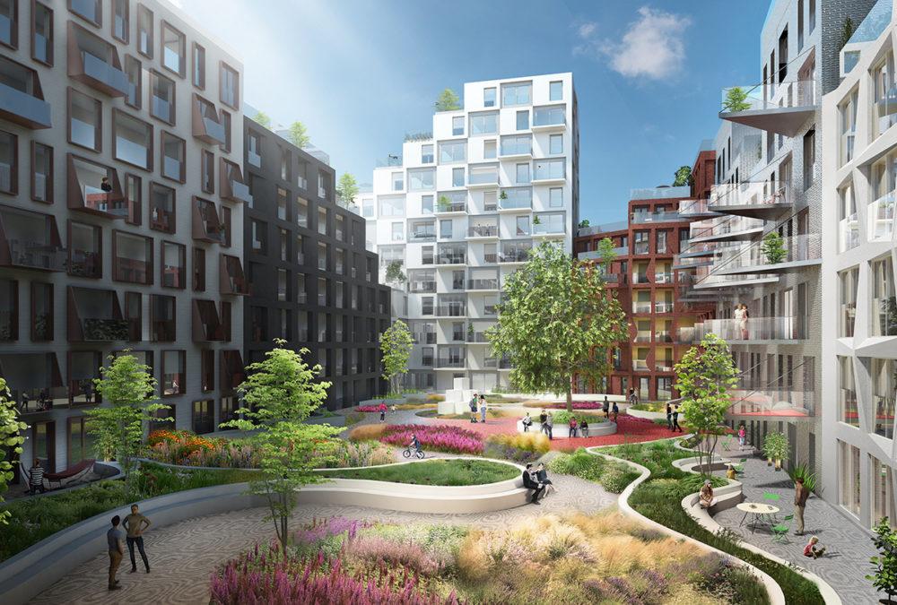 Plannen eerste woonblok Hyde Park Hoofddorp gepresenteerd