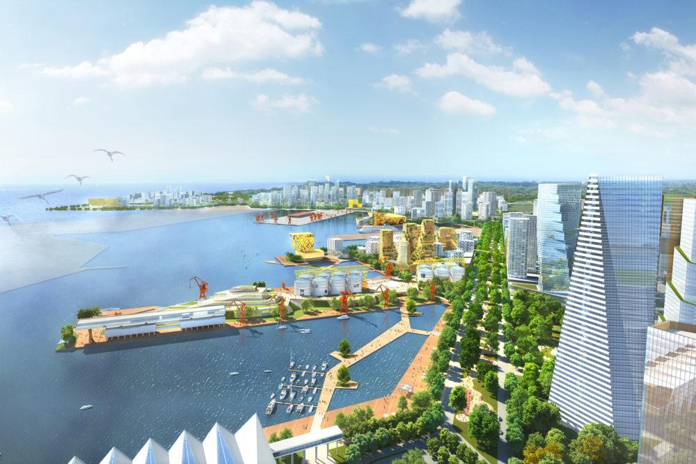 KCAP wint prijsvraag International Cruise Port City Qingdao, China