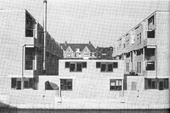 72 woningen aan de Nova Zemblastraat Amsterdam door Girod en Groeneveld