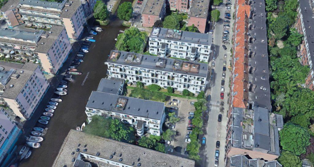 72 woningen aan de Nova Zemblastraat Amsterdam door Girod en Groeneveld, beeld Google Maps