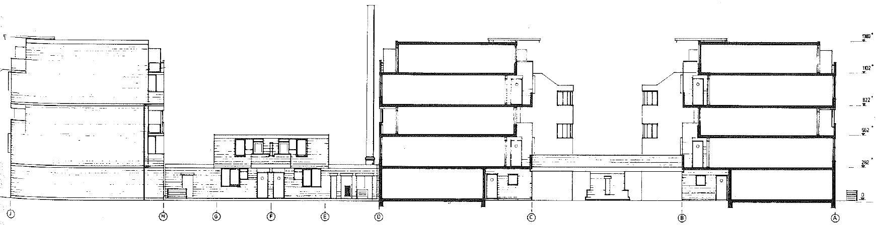 <p>72 woningen aan de Nova Zemblastraat Amsterdam door Girod en Groeneveld</p>
