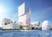 HIP – Hamburgs innovatiepark door MVRDV krijgt vorm