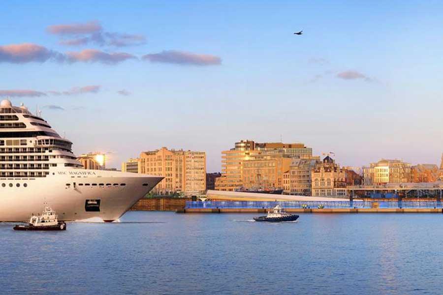 Ney & Partners Cruiseterminal Antwerpen