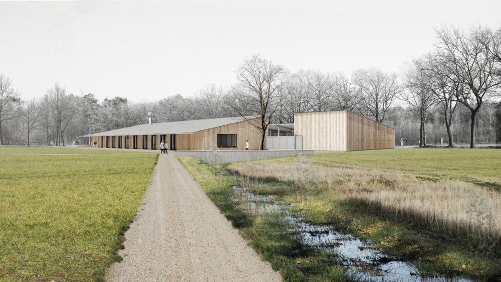 Studio Thys Vermeulen ontwerpt dienstencentrum Antwerpse Kempen