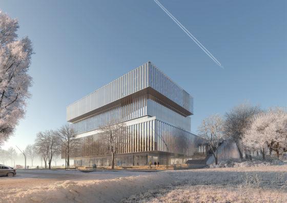 Schmidt-Hammer-Lassen-Architects_Solvay-HQ_Winter-view