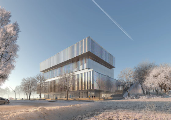 Schmidt-Hammer-Lassen-Architects_Solvay-HQ_Winter-view
