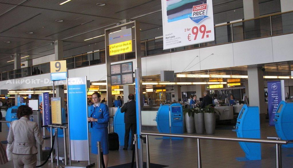 Inchecken KLM