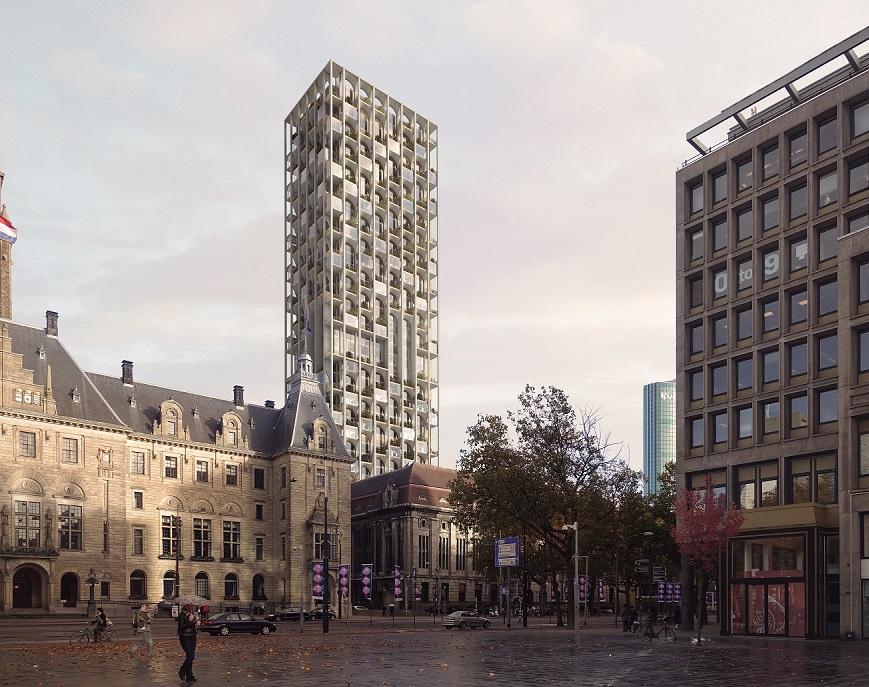 POST Rotterdam wordt in oude glorie hersteld