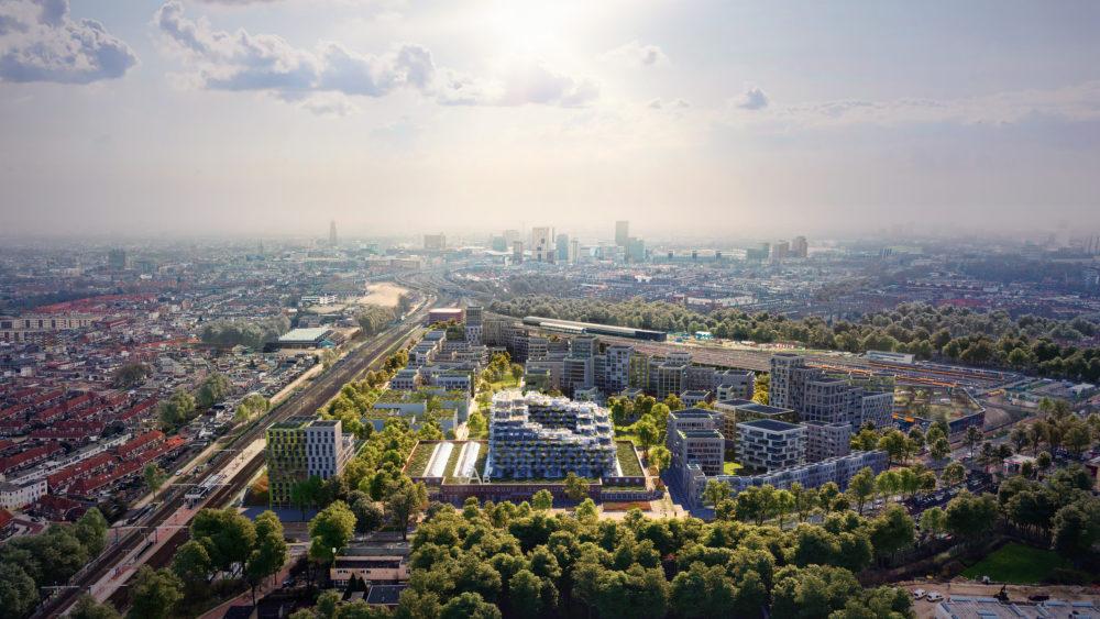 Mecanoo maakt winnend masterplan Cartesiusdriehoek Utrecht