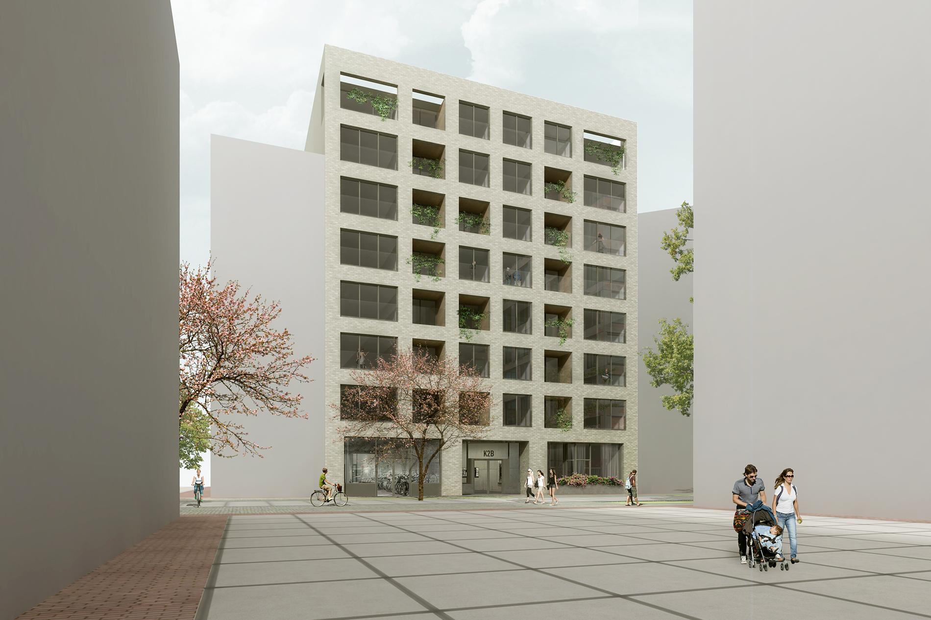 Impressie appartementen Oostenburgereiland Laura Alvarez Architecture
