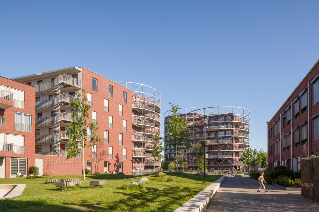 Masterplan Villa Industria Hilversum, beeld Mecanoo architecten