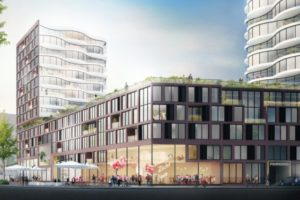 Barcode ontwerpt eerst woningproject Feyenoord City