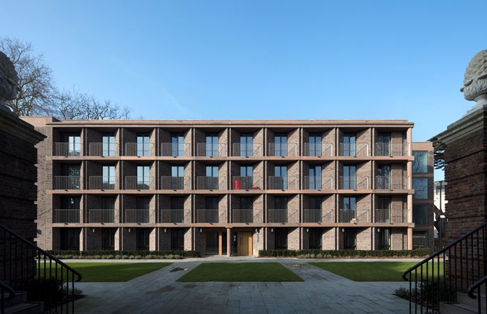 Nominatie RIBA Stirling Prize 2018: ​​​​Chadwick Hall door Henley Halebrown. Beeld: Nick Kane