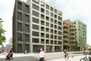 Woningbouw en hotel op Oostenburgereiland