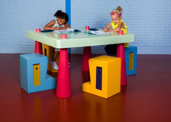ARC18: Schoolmeubellijn FLEX – Designed by Jeanine
