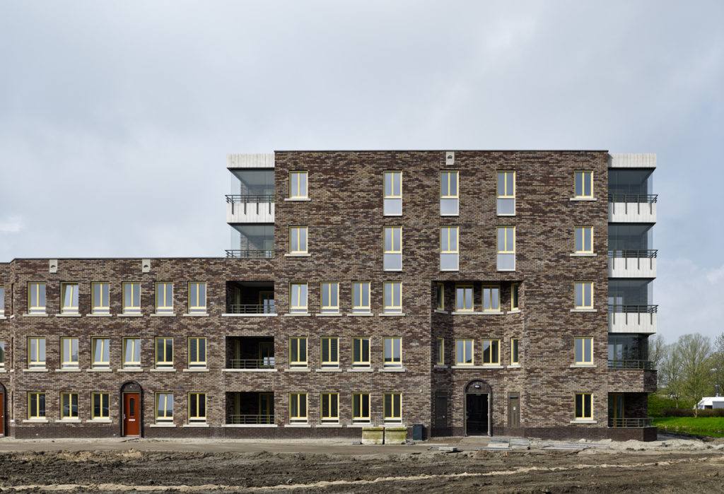 Woningbouw Churchillpark Leiden door Hans van der Heijden Architect, beeld Stefan Müller