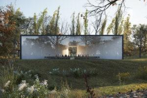 HofmanDujardin ontwerpt Uitvaartcentrum voor nieuwe vorm van afscheid nemen