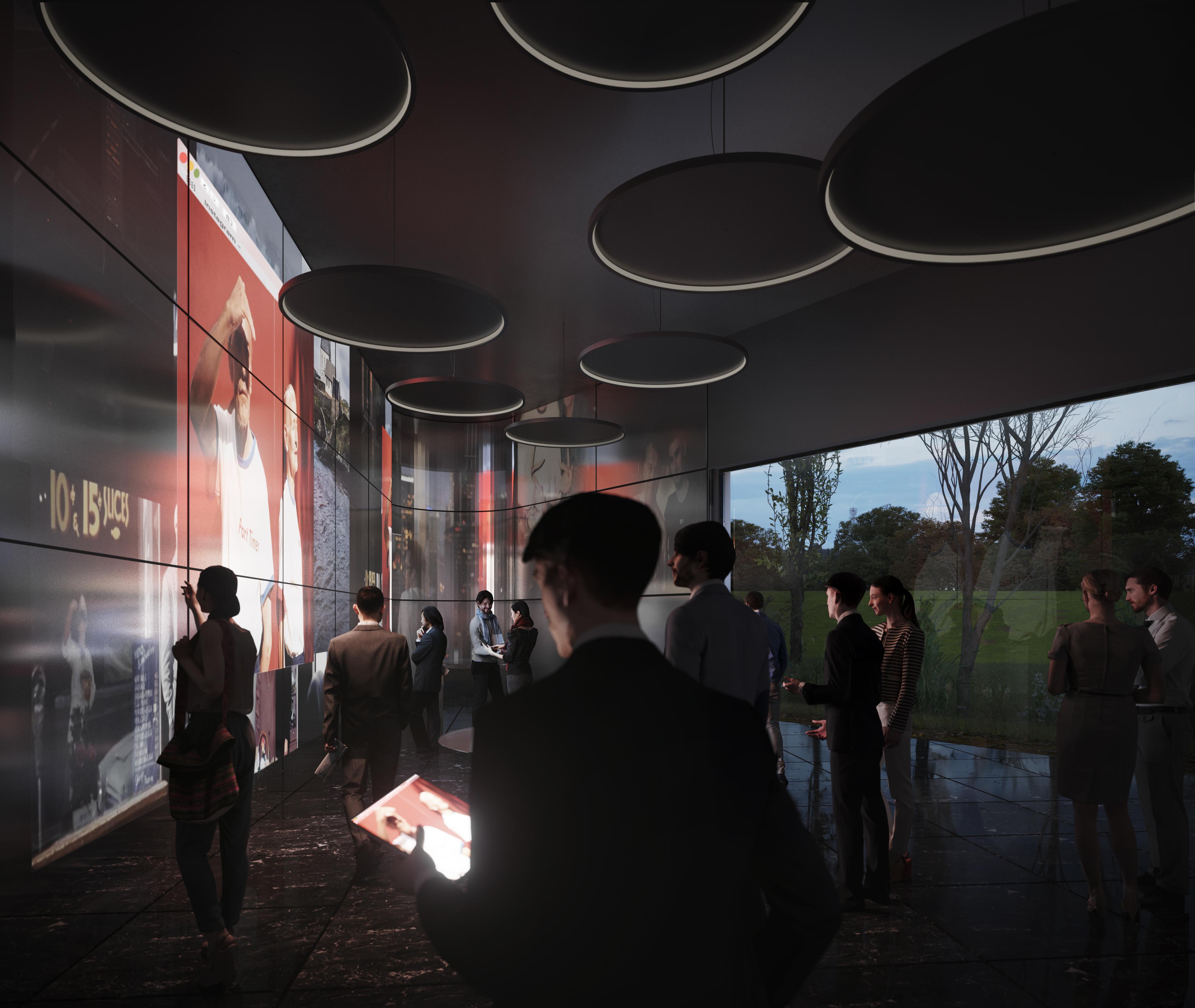 <p>Uitvaartcentrum door HofmanDujardin, beeld VERO Visual</p>