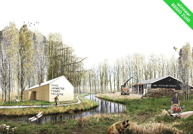 Productief Peppelland doorJob Wittens,Joost van der Waal enFrans van Boeckel
