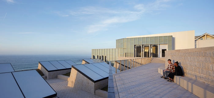 Nominatie RIBA Stirling Prize 2018: ​​New Tate St Ives door Jamie Fobert Architects in samenwerking met Evans & Shalev. Beeld: Hufton&Crow