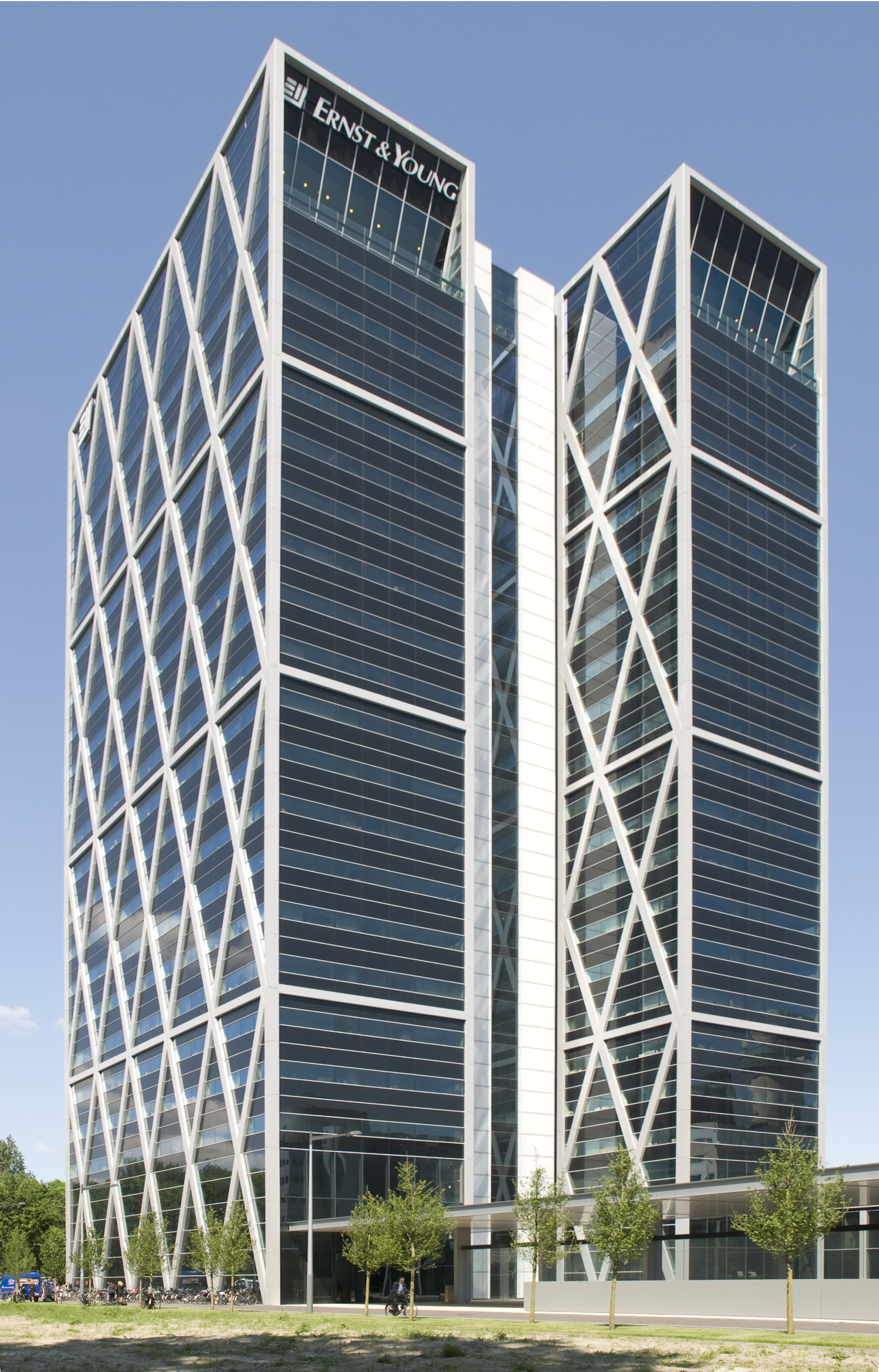 Vivaldi Tower, Amsterdam door Foster + Partners (beeld)