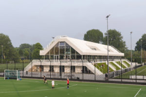 ARC18: Clubverzamelgebouw Varkenoord Rotterdam – NL Architects