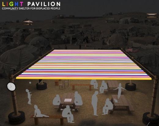 "Velux Light Award 2018: ""Light Pavilion"" van Fatai Osundiji en Emmanuel Ayo-loto van de Obafemi Awolowo University in Nigeria"