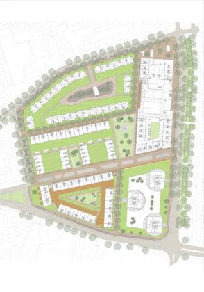 Villa industria site plan 294x420
