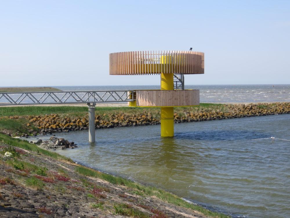 ARC18: Waddenbelevingspunt, Den Oever – Knevel Architecten