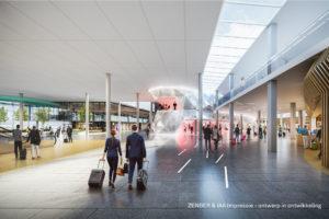 Zenber en IAA winnen opdracht herontwikkeling Lounge 1 Schiphol