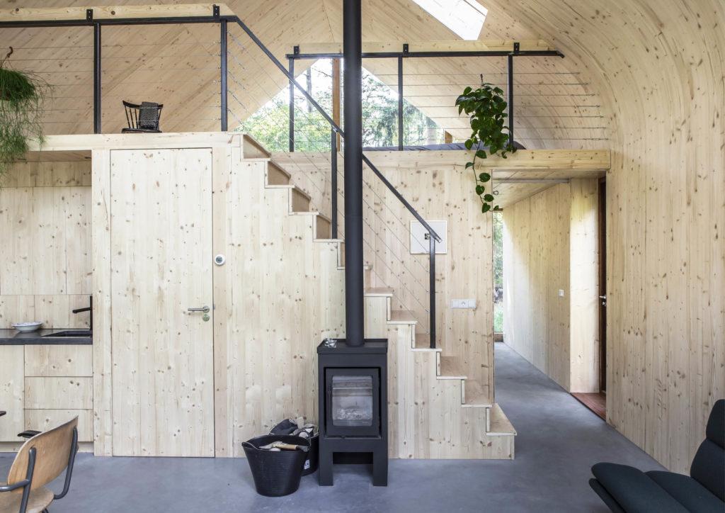 Indigo Atelierwoning door Woonpioniers - Beeld Henny van Belkom