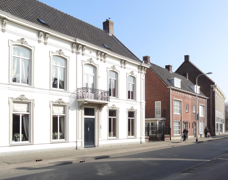 <p>Goirkestraat, beschermd stadsgezicht: naburige panden anno 2017</p>