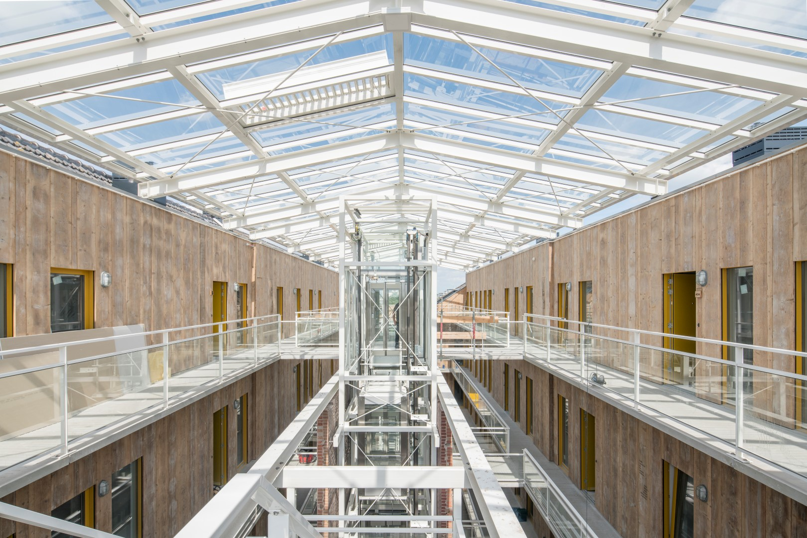 <p>Kaaspakhuis Gouda door mei architects and planners. Beeld: Ossip van Duivenbode</p>