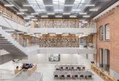 ARC18: Utopia Aalst, Bibliotheek en Academie voor Podiumkunsten – KAAN Architecten