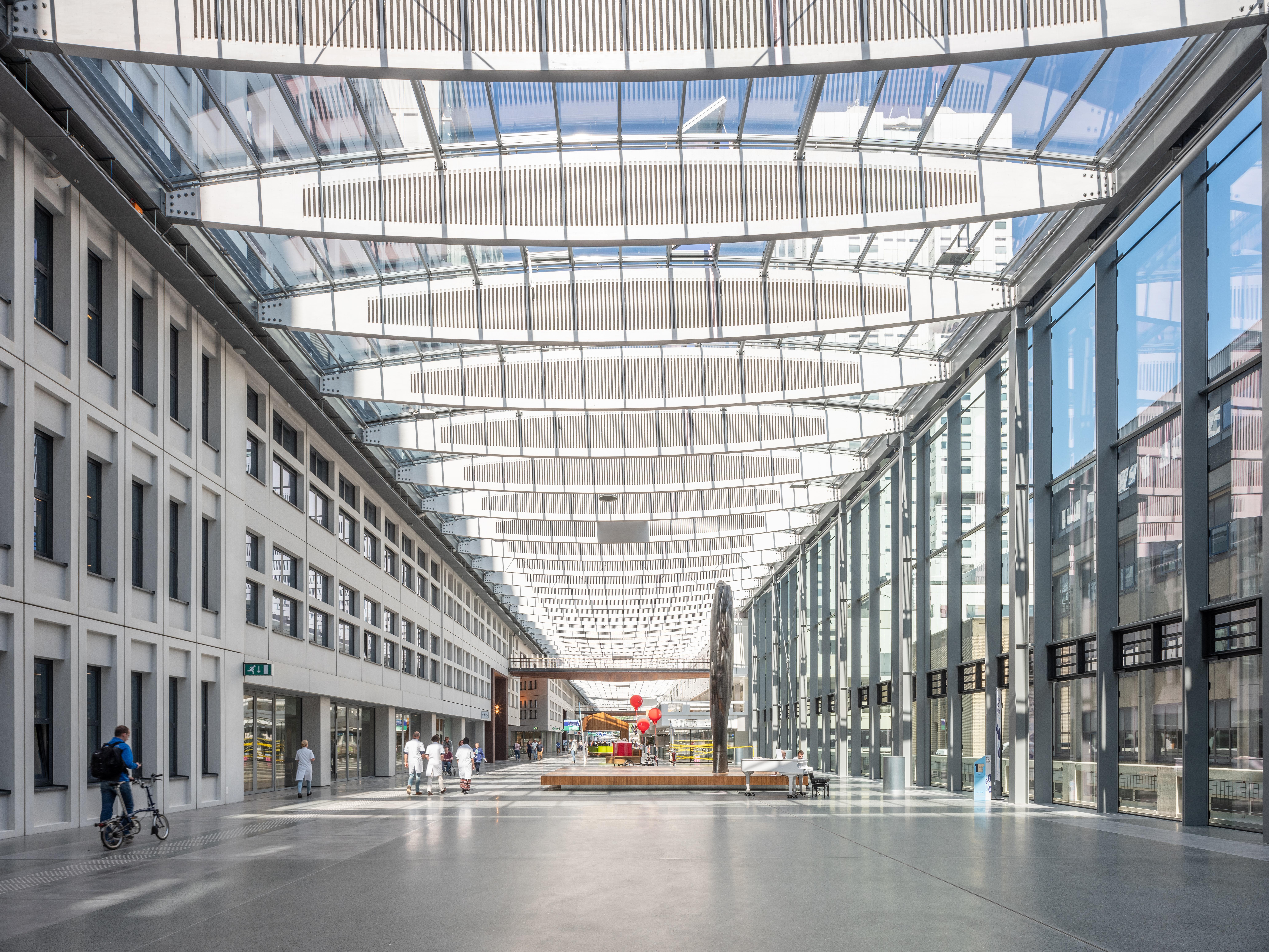 <p>Erasmus Medisch centrum Rotterdam door EGM Architecten. Beeld Ossip van Duivenbode</p>