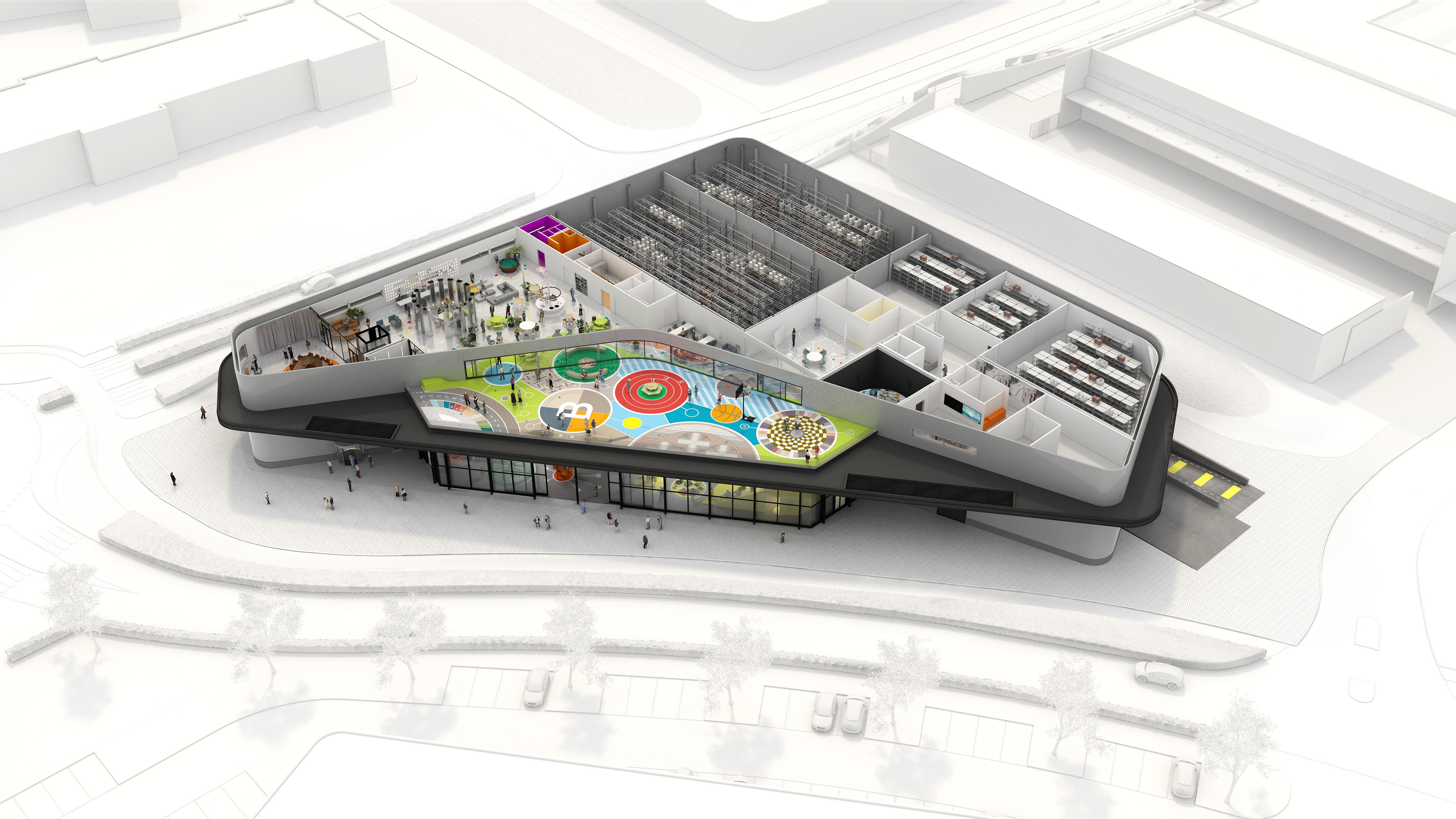 <p>Visualisatie: Lüchinger Architects</p>