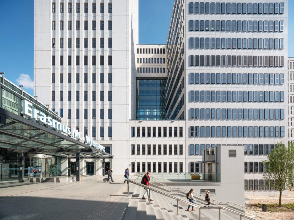 Erasmus Medisch centrum Rotterdam door EGM Architecten. Beeld Ossip van Duivenbode