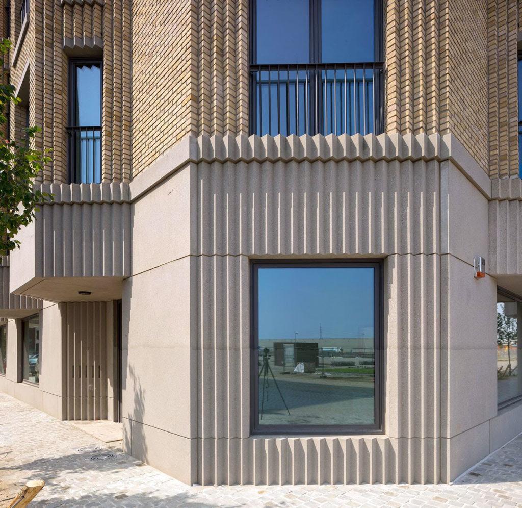 Cadix Antwerpen - Happel Cornelisse Verhoeven en Stephen Taylor Architects. Beeld Karin Borghouts