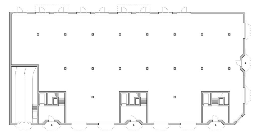 Cadix Antwerpen - Happel Cornelisse Verhoeven en Stephen Taylor Architects. Begane grond