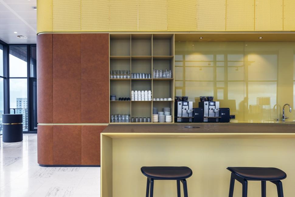 <p>Detail van pantry. foto: Sebastian van Damme</p>