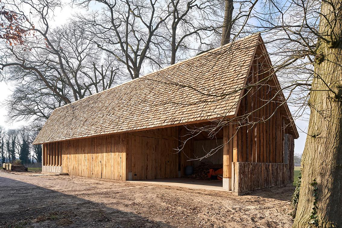 <p>aanzicht boerderij zijde  – foto Rene de Wit</p>