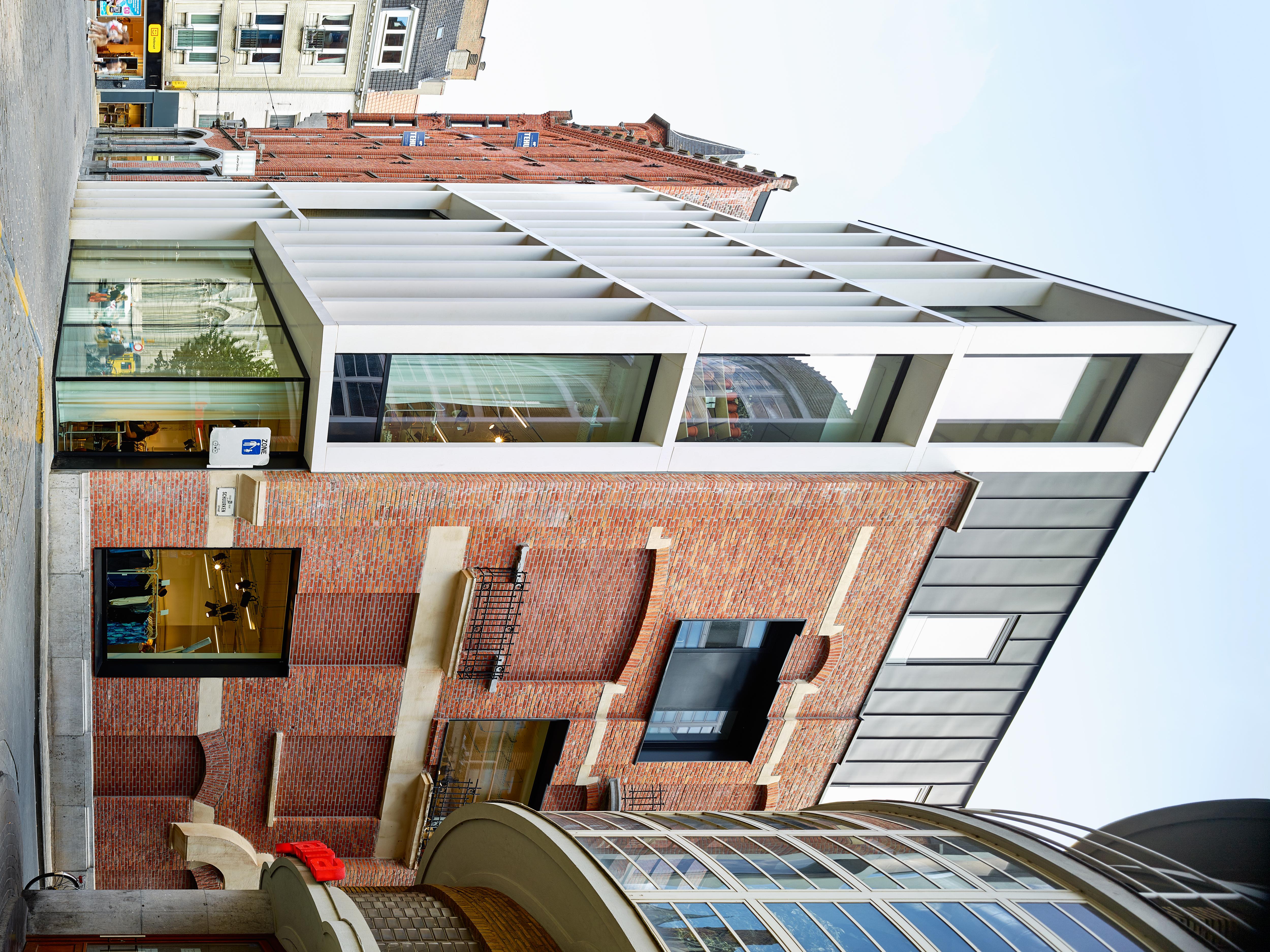 Interieur Verbouwing Hoekpand : Arc verbouwing historisch pand in gent u abscis architecten