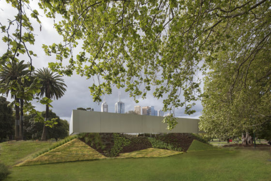 <p>MPavilion, Melbourne &#8211; OMA. Beeld John Gollings</p>