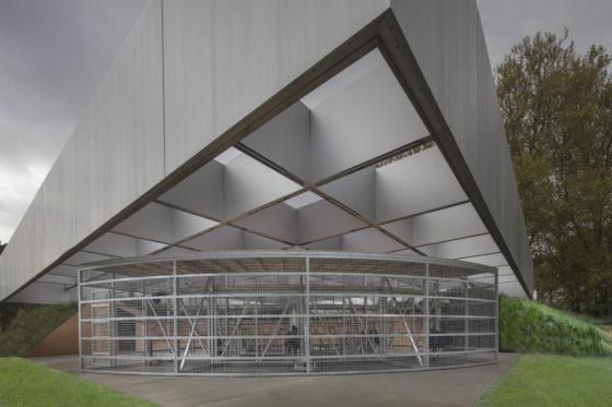 MPavilion, Melbourne - OMA. Beeld John Gollings