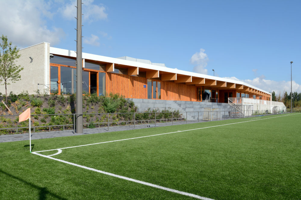 ARC18: Sportkamer Deurne – BULK architecten