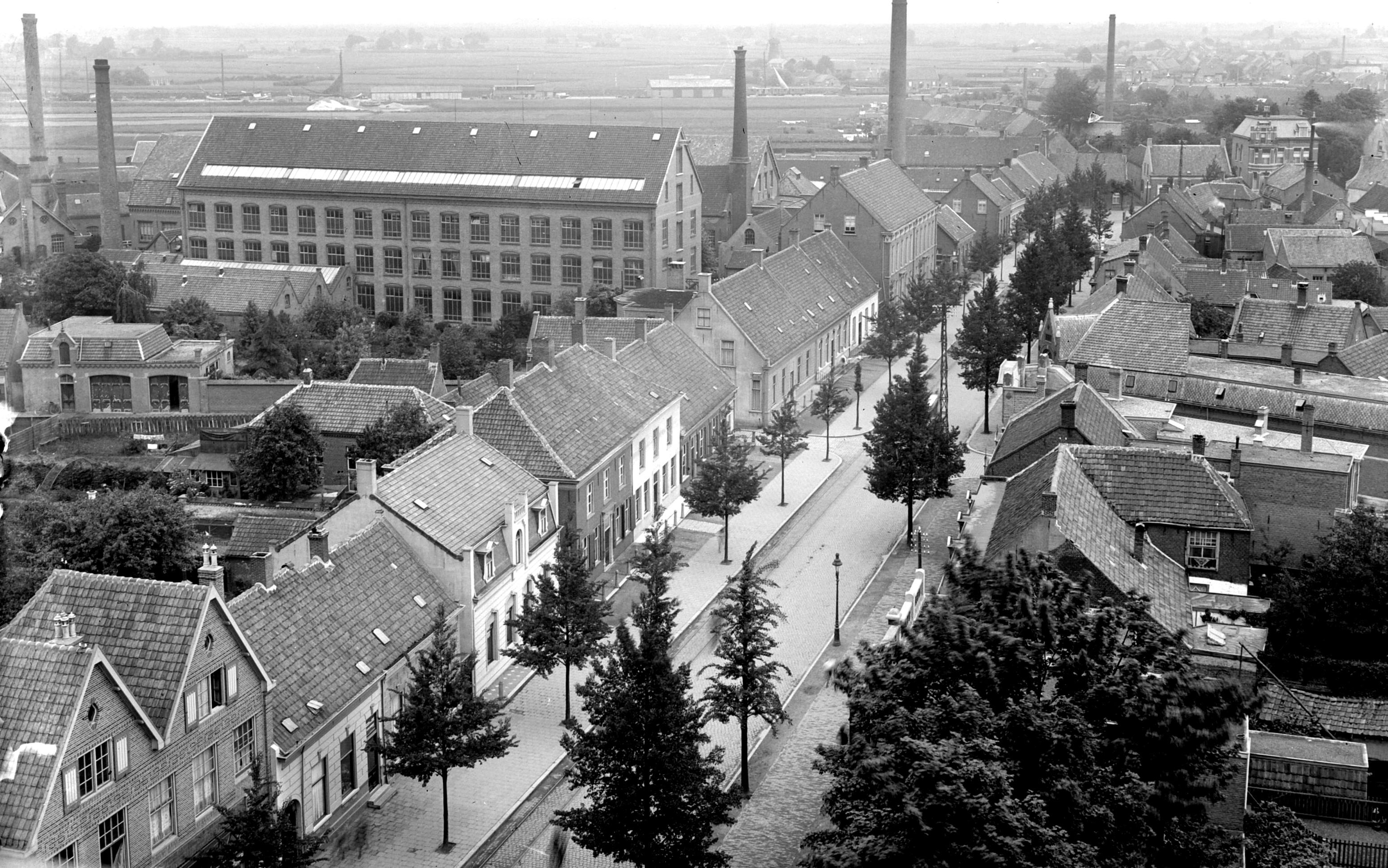 <p>Goirkestraat jaren '30. Bron: Regionaal Archief Tilburg</p>