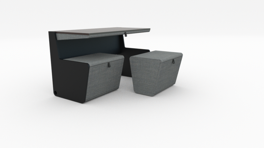 ARC18: Flip Desk/Bench – WW Atelier