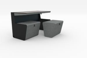 ARC18: Flip Desk/Bench – WW Atelier